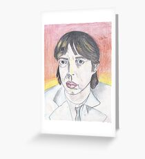 Buscemi Jagger Greeting Card