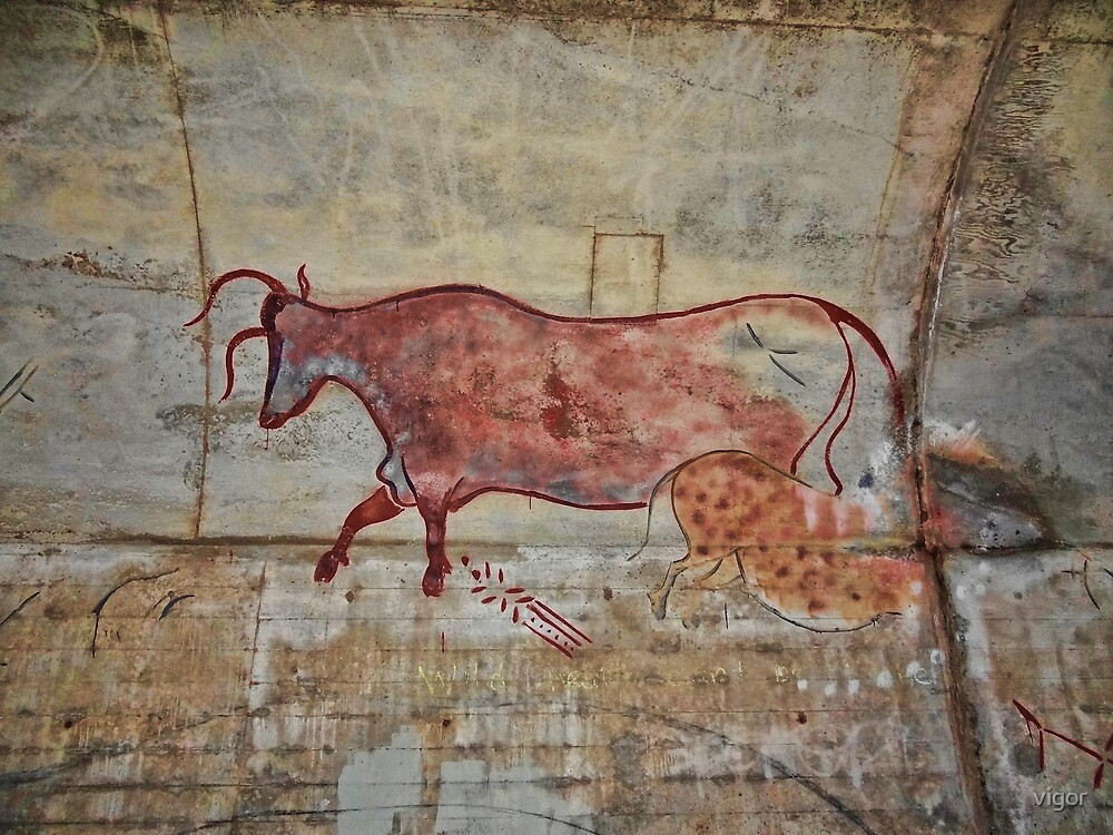 Cave Painting by vigor