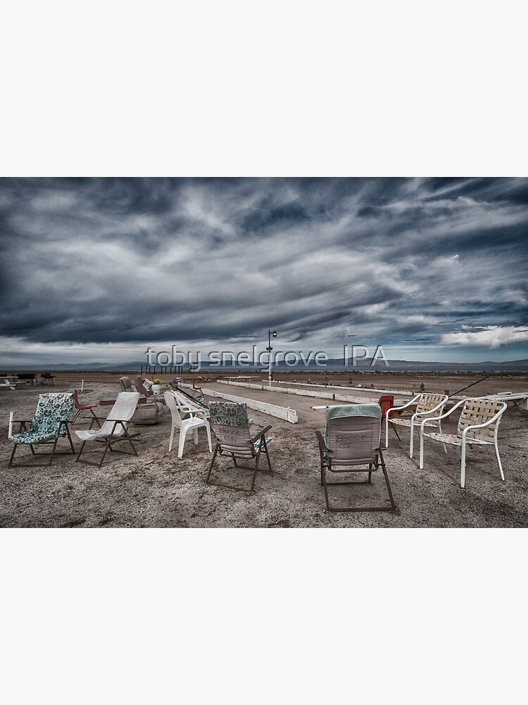 Salton Sea Series: Lounging at the shuffleboard site by tobysnelgrove