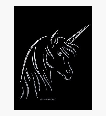 Unicorn - Einhorn Photographic Print