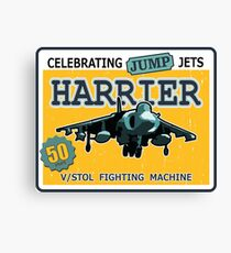 Celebrating Jump Jets Canvas Print