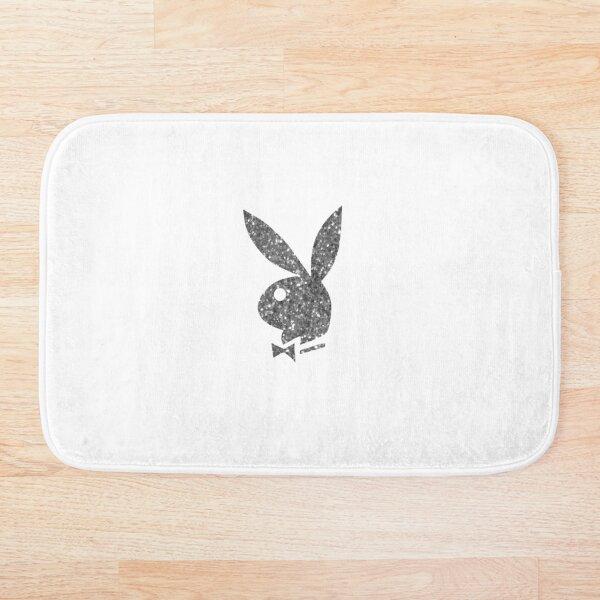 Playboy Bunny - Silver Glitter Bath Mat