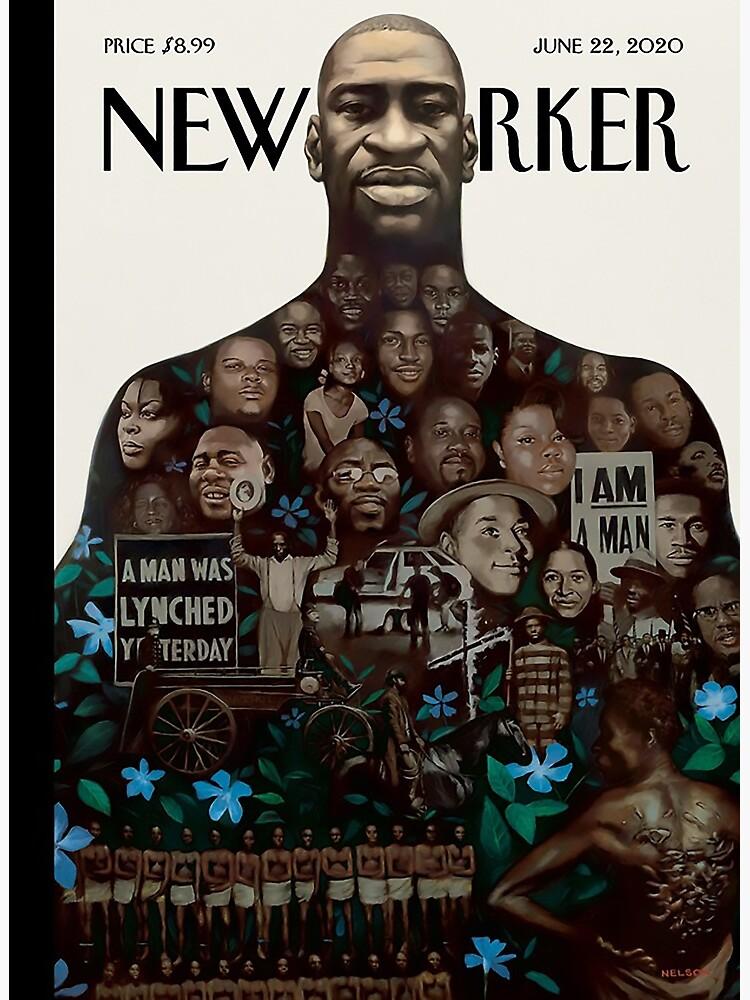 "The New Yorker | "" GEORGE FLOYD ❤ "" | June 22, 2020 by artistik-soul"