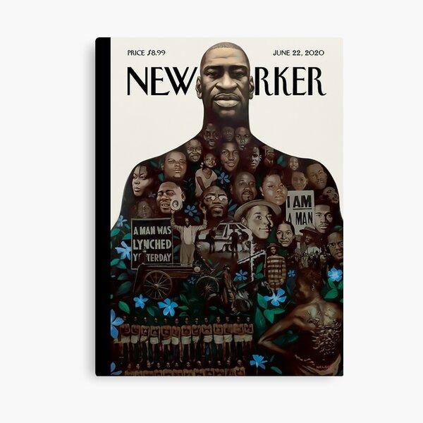 "The New Yorker | "" GEORGE FLOYD ❤ "" | June 22, 2020 Canvas Print"