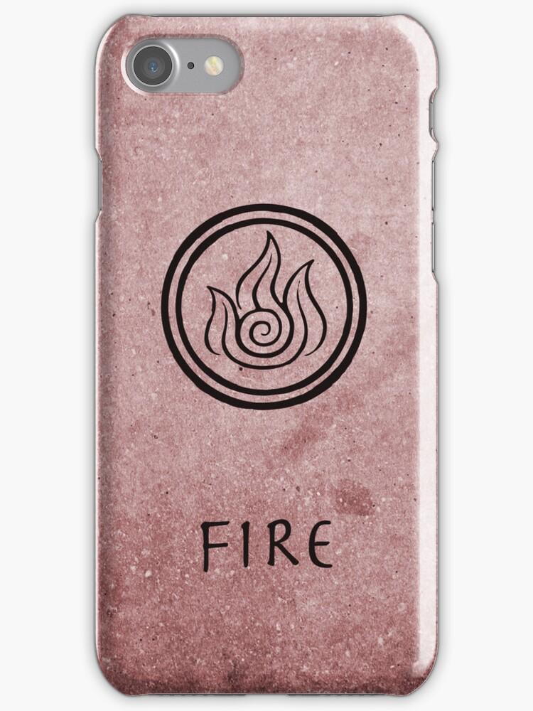 Avatar Last Airbender Elements - Fire by briandublin