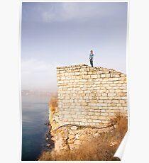 Kaliakra Edge of the world  Poster