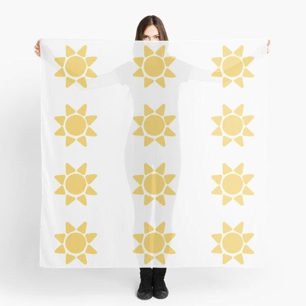 Simple Sun Scarf