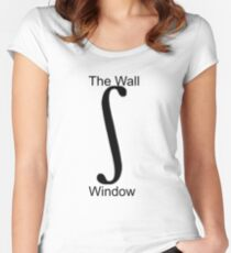window to the wall Women's Fitted Scoop T-Shirt