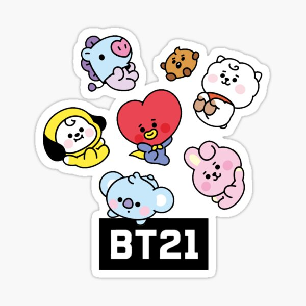 Bts Dolls Stickers Redbubble