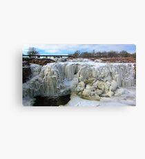 Frostbite Falls Metal Print