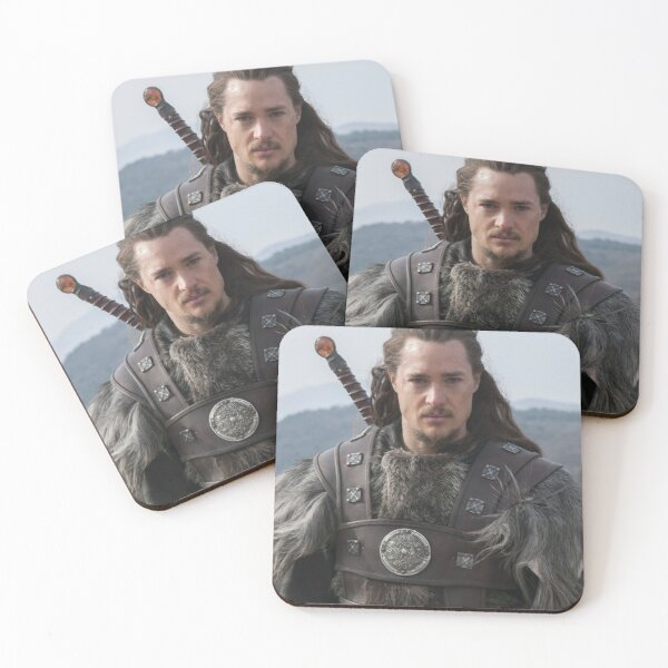 Uhtred of The Last Kingdom Coasters (Set of 4)