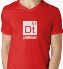 Dilithium - Star Trek Men's V-Neck T-Shirt