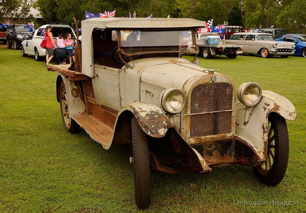 1924 Dodge Brothers Utility by Christopher Houghton