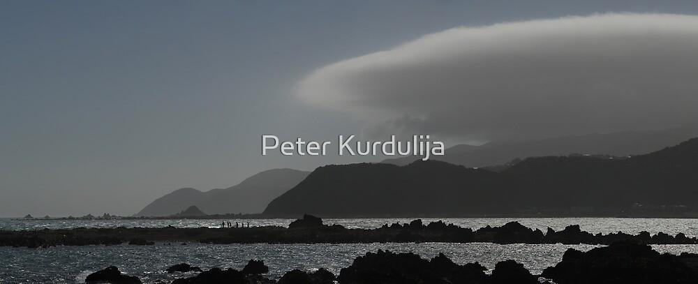 Walking Between the Waves by Peter Kurdulija