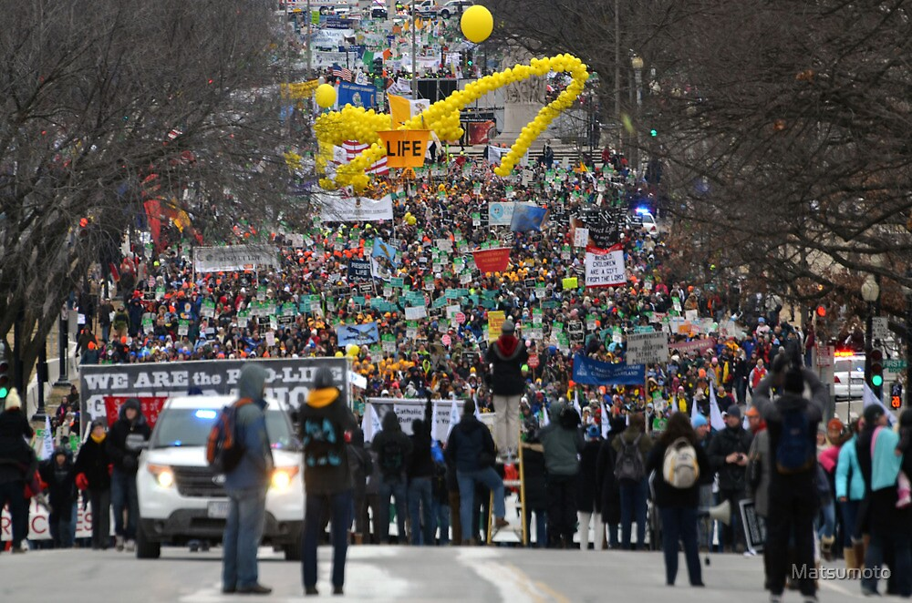 March for Life - Washington D.C. MMXIII  Plate # VII by Matsumoto