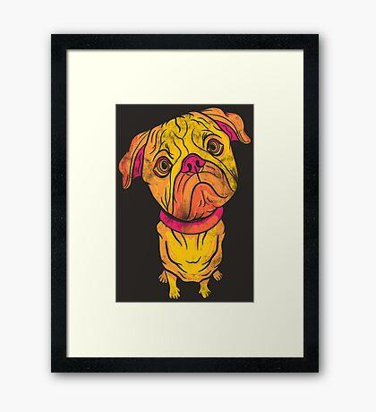 Underdog Framed Print