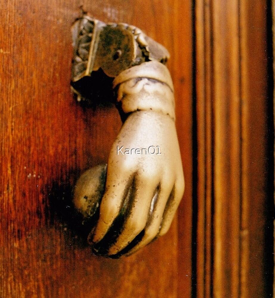 Knock three times.. by Karen01