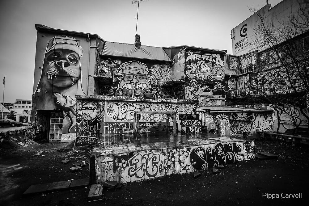 Reykjavik Graffiti  by Pippa Carvell