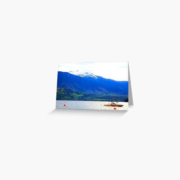 Cultus Lake BC Greeting Card