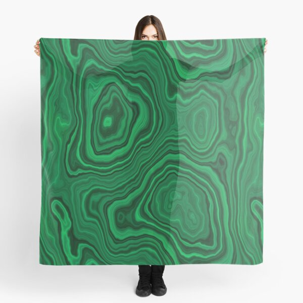 Darker Malachite Scarf
