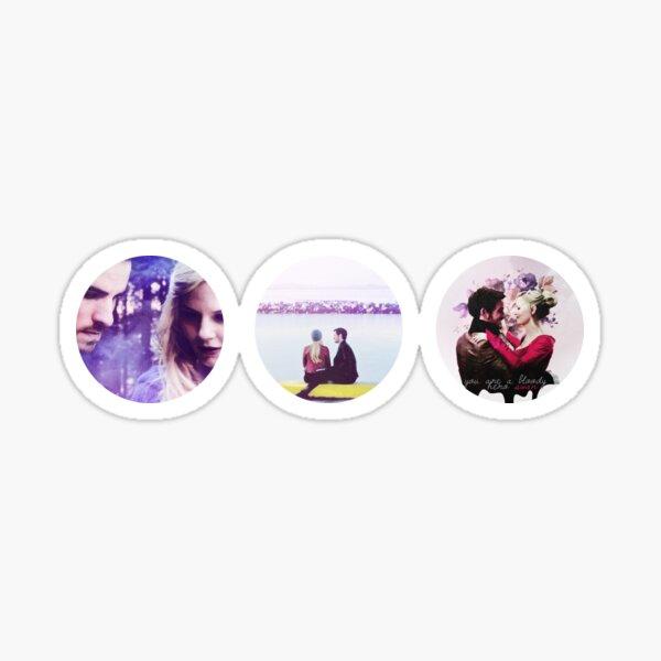 CaptainSwan - triple bubble Sticker