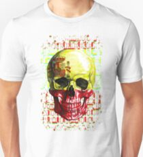 digital Skull (flag of spain) T-Shirt