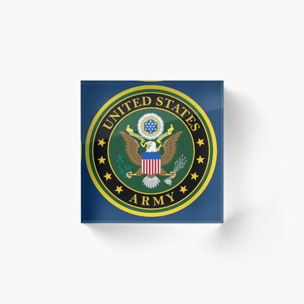 US Army Acrylic Block