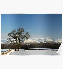 Ochil Hills Stirling... Poster