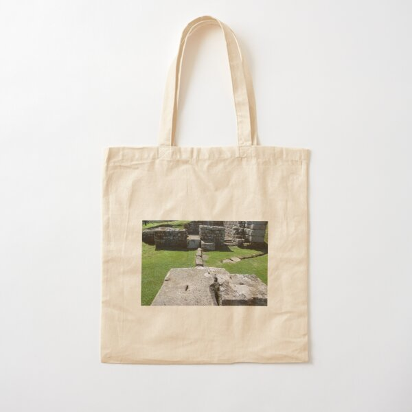 Merch #87 -- Rocks And Bricks - Shot 9 (Hadrian's Wall) Cotton Tote Bag