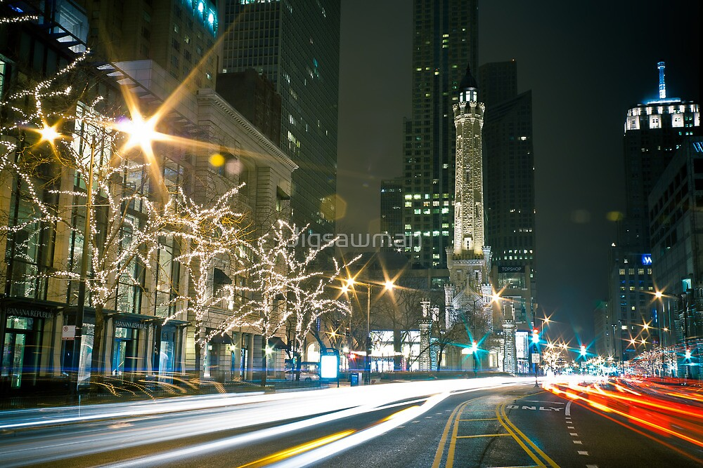 Chicago Water Tower by Jigsawman