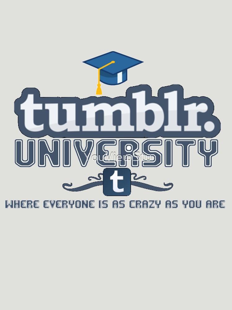 Tumblr University | Unisex T-Shirt