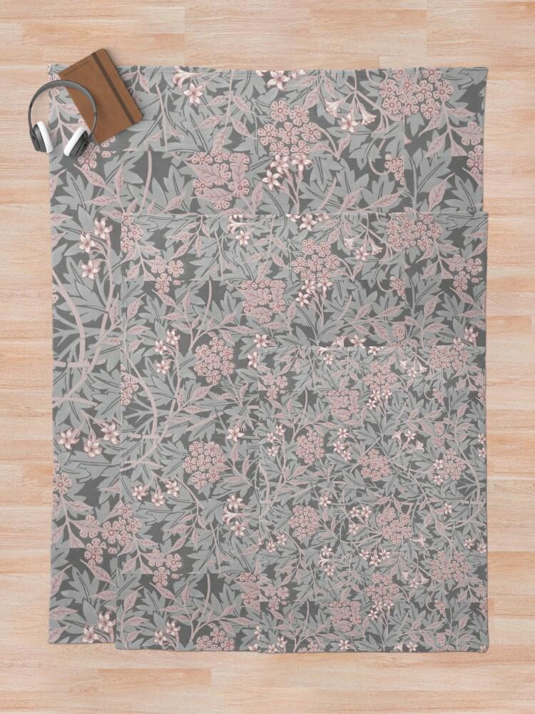 Alternate view of Jasmine by William Morris, 1872 Throw Blanket