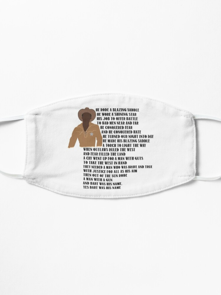 Alternate view of Sheriff Bart Mask