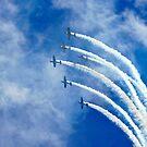 stunt planes by Mark Walker