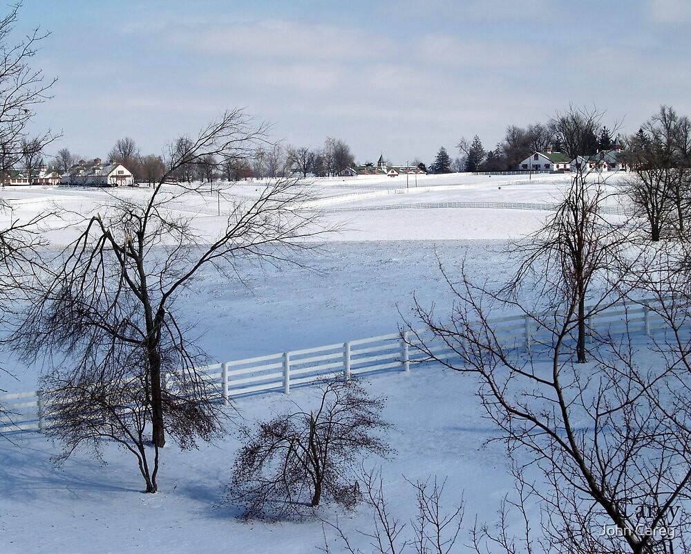 Calumet in Snow by John Carey