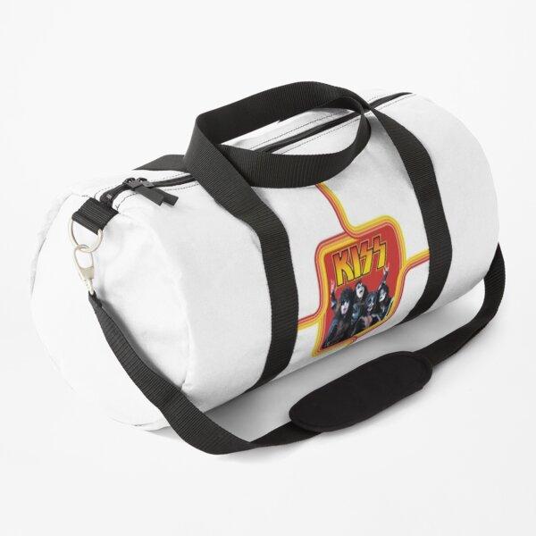 Kiss - Retro Red Duffle Bag