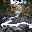 Ragged Falls by creativegenious