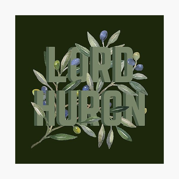 Lord Huron // Olive Branch Illustration Photographic Print