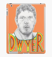 Andy Dwyer/Chris Pratt Portrait iPad Case/Skin