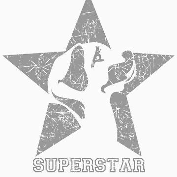 My Superstar dog tee shirts by derickyeoh