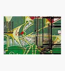 Railcar Graphics. Photographic Print