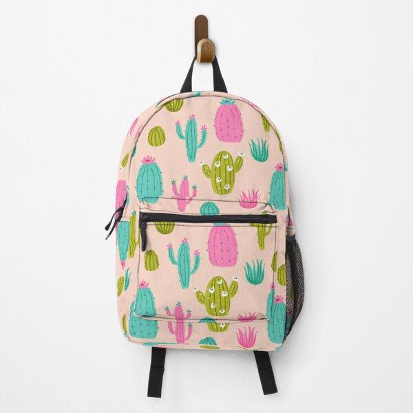 Cute Cactus Light Backpack