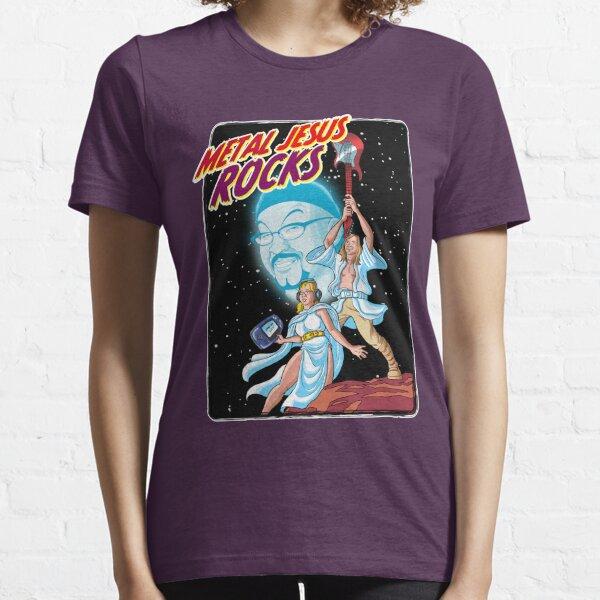 Metal Jesus Rocks - Galaxy Far Away Essential T-Shirt