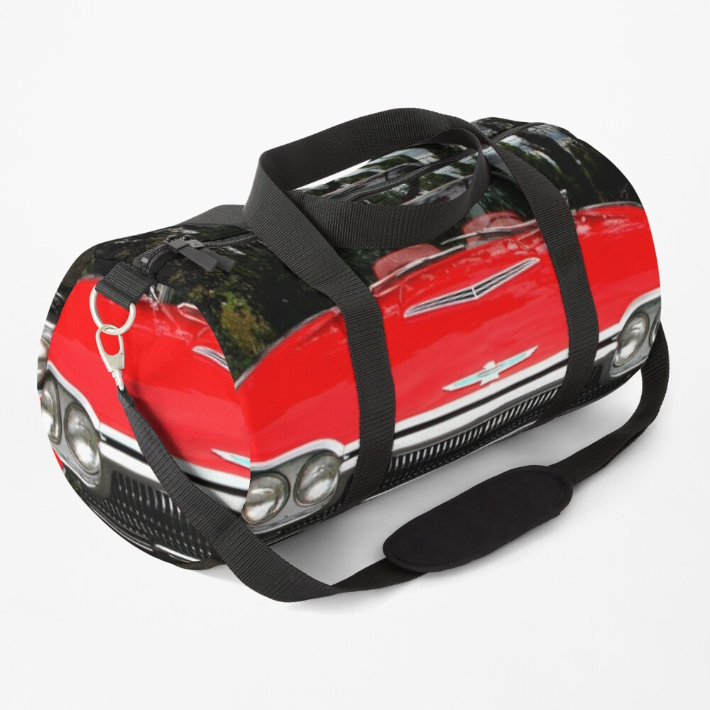 Ford Thunderbird 1963 Model Front End Duffle Bag