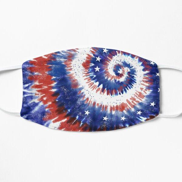 4th of July Tie-Dye Spiral Mask