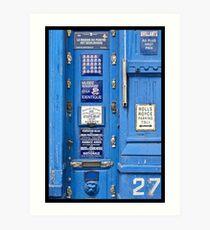 27 Place du Jeu de Balle Art Print