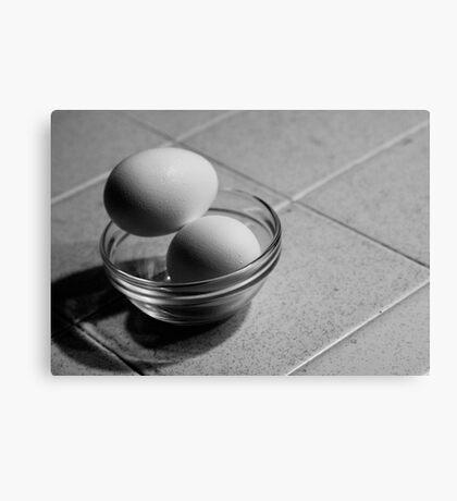 Still Life - Eggs Canvas Print