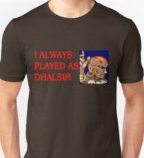 Street Fighter 2 Memories DHALSIM Unisex T-Shirt