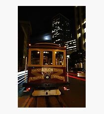 California & Market End of the Line Photographic Print