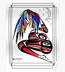 Prego Feathers Poster